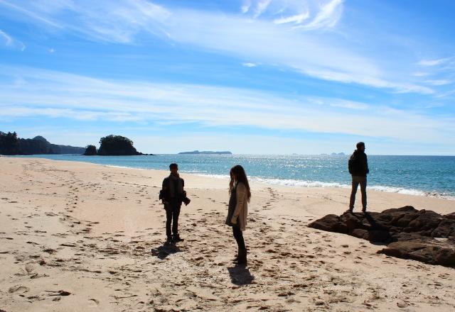 Hell's Teeth - Beach scene