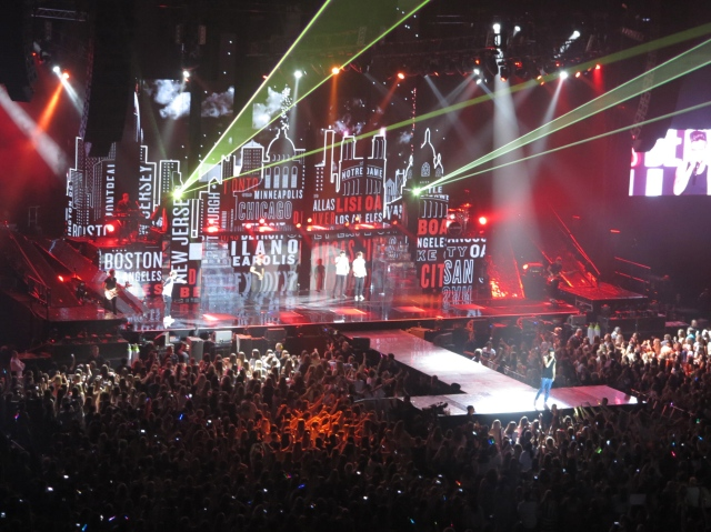 One Direction at Vector Arena | Madicattt